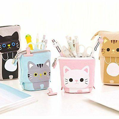 Pencil Transformer Stand Cute Cat