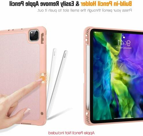 """11"""" 2020 Soft TPU Cover Stand with Pencil Holder"""