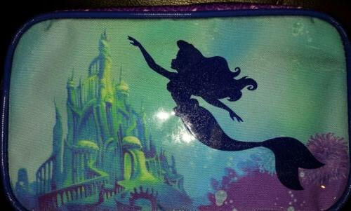 Disney Little Makeup Cosmetic Pencil Pouch NEW