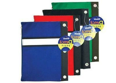 assorted 3 ring pencil pouch