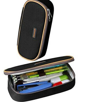 black pencil holders pencil cases with big