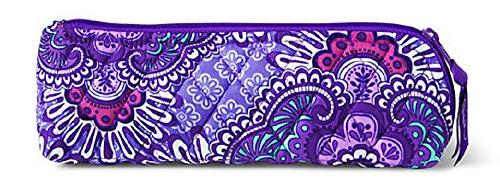 brush pencil case lilac tapestry