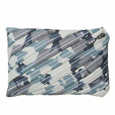 camo big pencil case grey camouflage grey