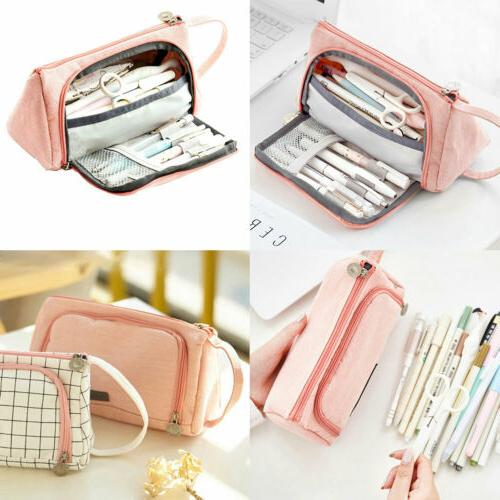 Student Pencil Large School Stationery Cosmetic