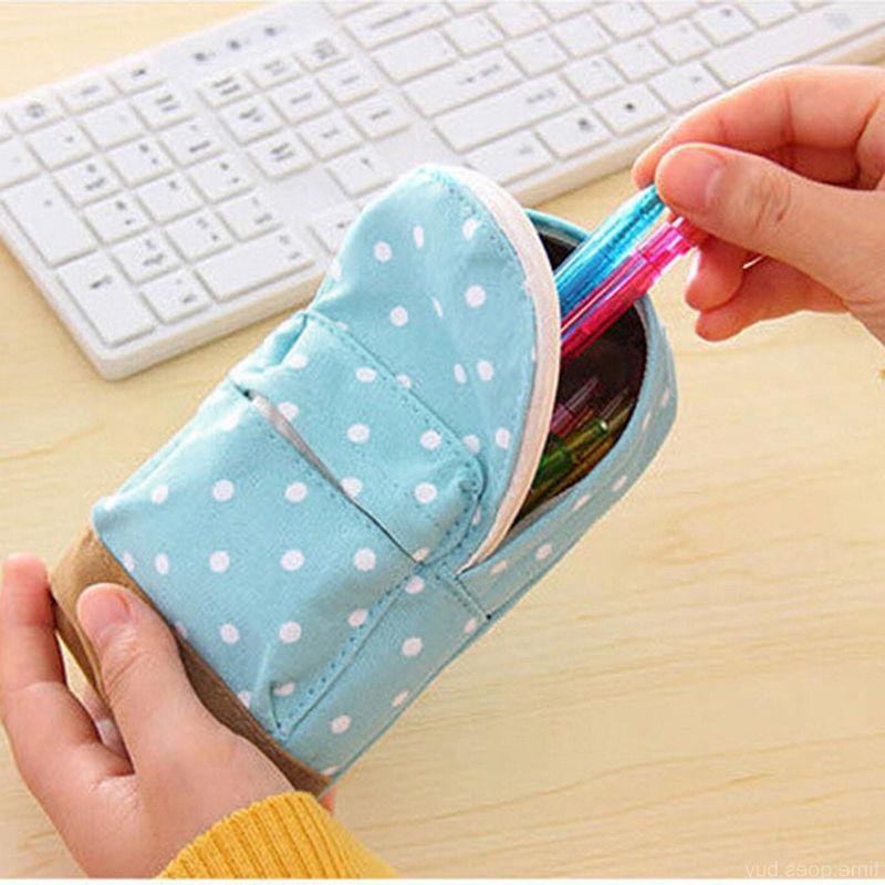 Canvas Stationery Pen bag Pencil Case Cosmetic Case Pouch St