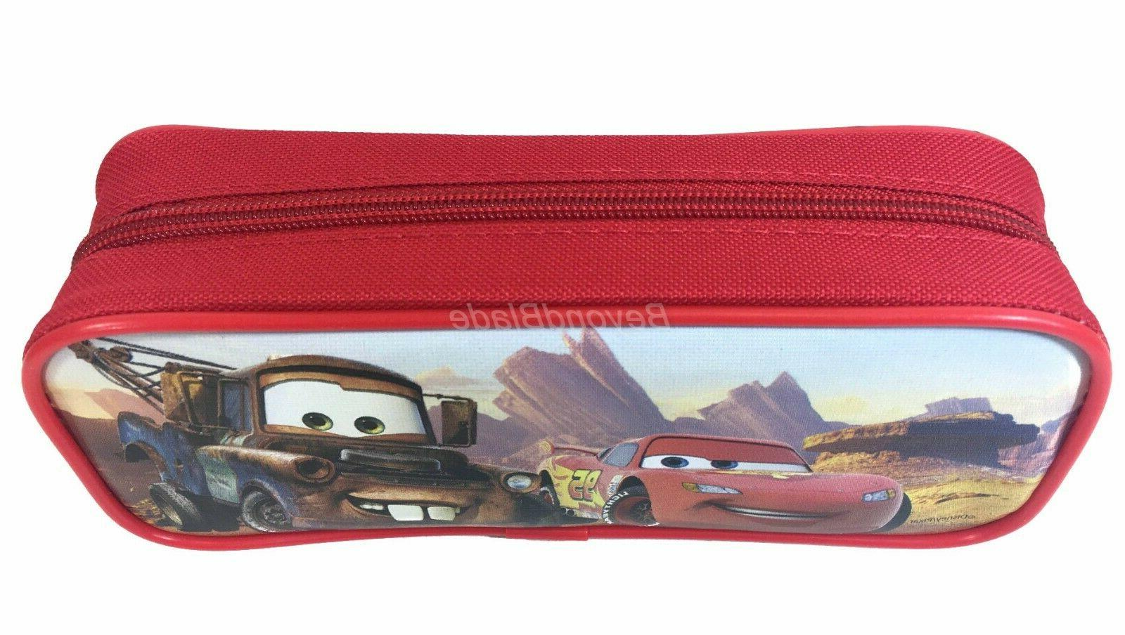 Disney Red Pencil Pouch Zippered Authentic Bag