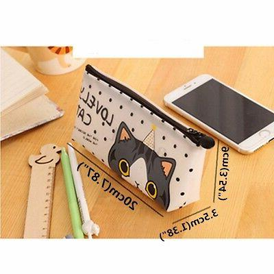 Cartoon Case Box Pen Bag Pouch Stationary Bag