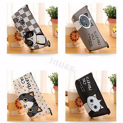Cartoon Box Pen Storage Pouch Bag