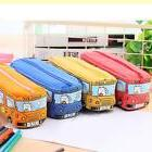 cartoon pen pencil case bag box bus