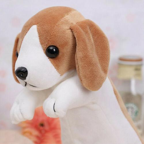 Animal Pen Cartoon Plush Dog Case For School