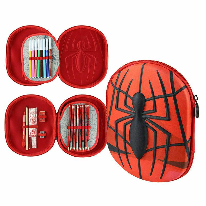 case with accessories marvel spider man giotto