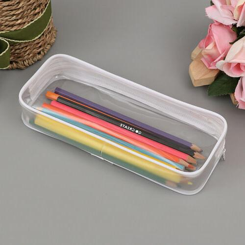 Clear Pencil Pouch for