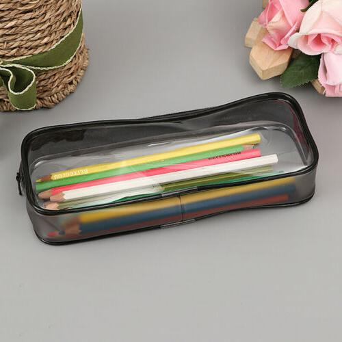 Clear Pencil Case Makeup Pouch Bag for Cosmetics