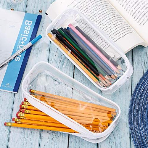 Tatuo 4 Pieces PVC Bag Students Stationery
