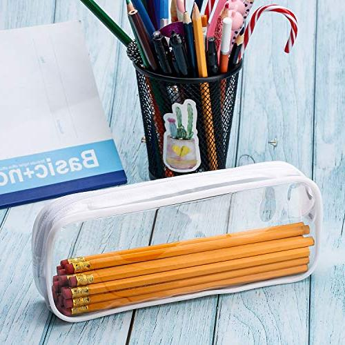 Tatuo 4 PVC Pen Case, Pencil Bag Pouch Students Stationery