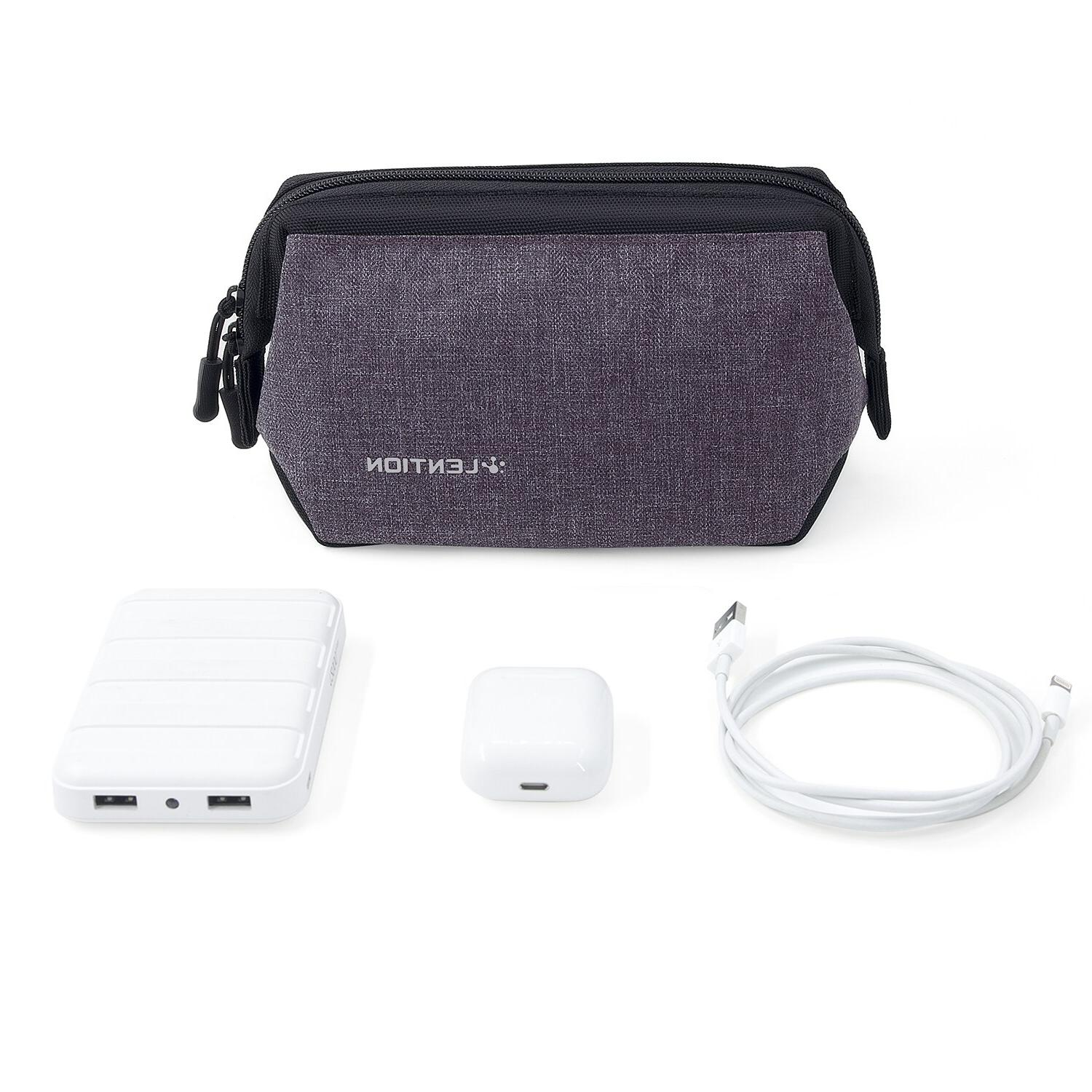 Compact Pouch, <font><b>Sleeve</b></font> Power Adapter, Charger, Mouse, Phone, and More