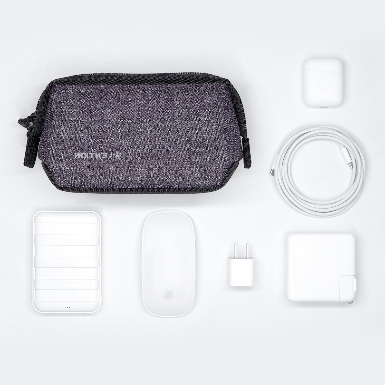 <font><b>Sleeve</b></font> for Power Adapter, Charger, Mouse, Phone, <font><b>Pencil</b></font> and More