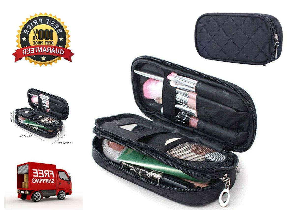 cosmetic bag pencil case w mirror