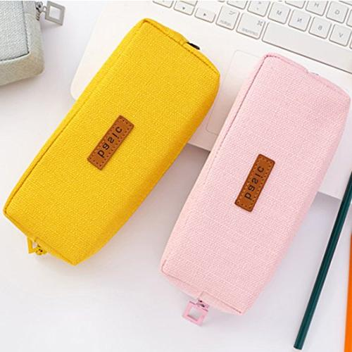 iSuperb Cotton Case Student Stationery Organizer Coin Pouch Bag