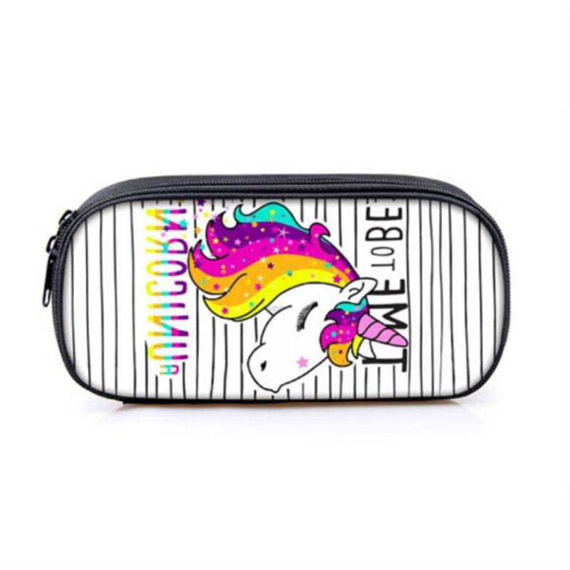 Cute Unicorn Case for School Supplies Stationery