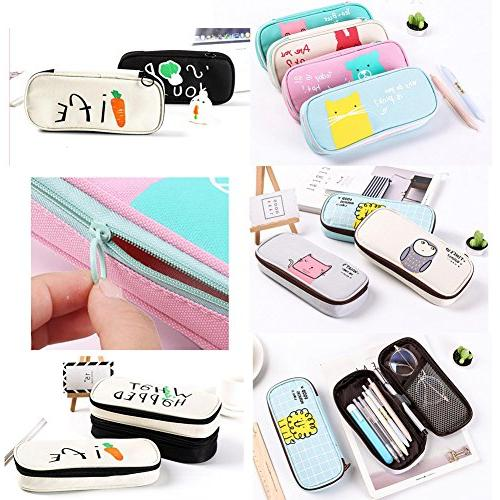 Cute Pencil Pouch Stationery Case #03