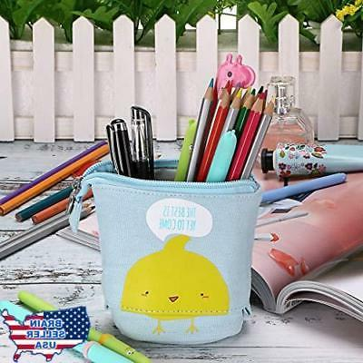 BTSKY Carton Pencil Case- Holder Sta