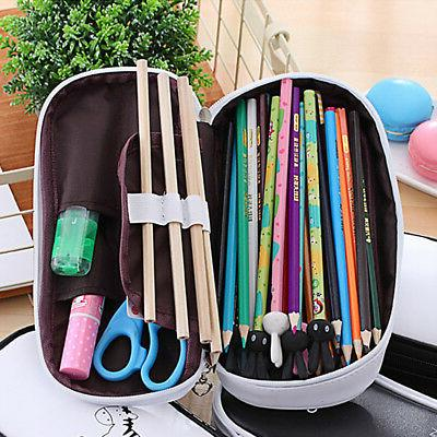 Cute Large Capacity Pencil School Stationery Cosmetic