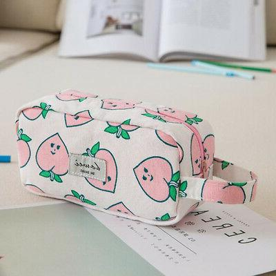Cute Capacity Case For Girls Pen Bag Pouch !