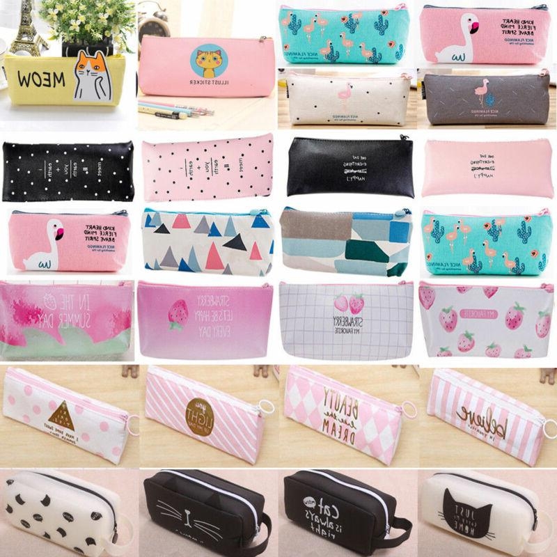 cute pencil case pen pouch box bag