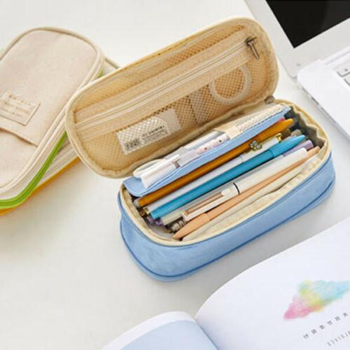 Double Layer Capacity Pencil Student Box