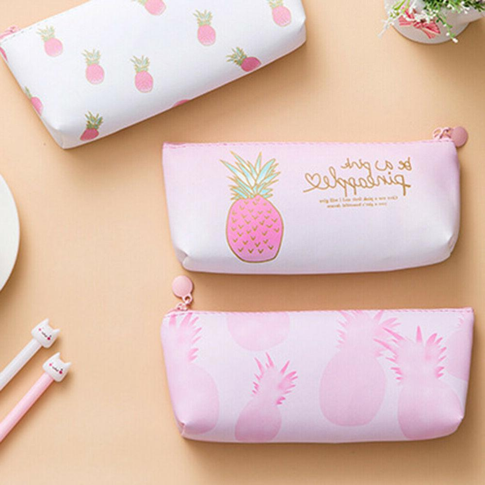 EB_ Pencil Case Pen Girls Stationery Gift Fine