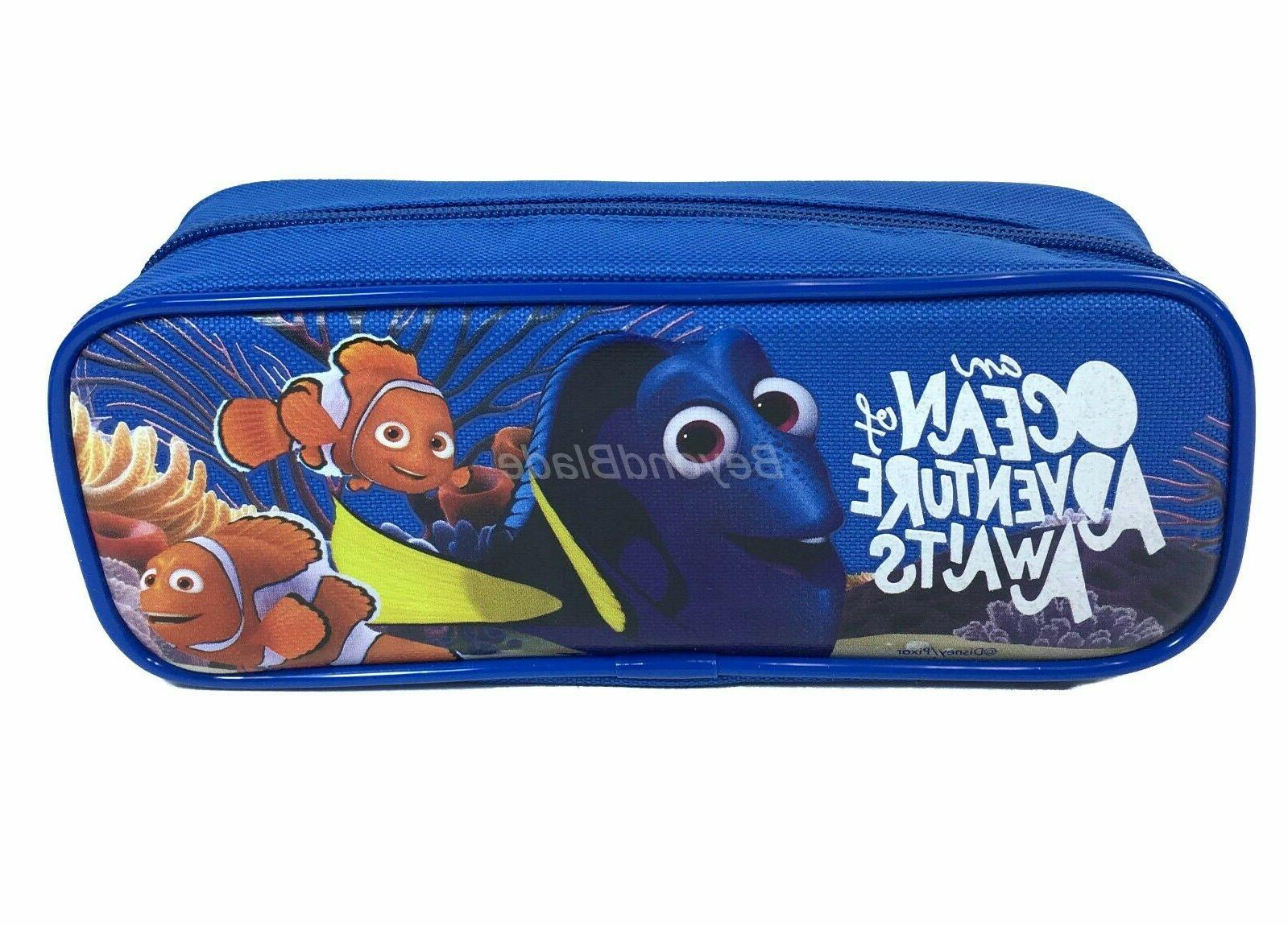 Disney Finding of 3 Pencil Pouch Zippered Case Authentic