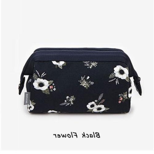 Flamingo Pencil Case Travel Girls Women US
