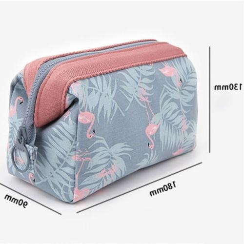 Flamingo MAKE UP Pencil Case Travel Girls US