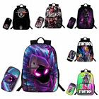 Fortnite Battle Royale Print Backpacks Pencil Case Set Schoo