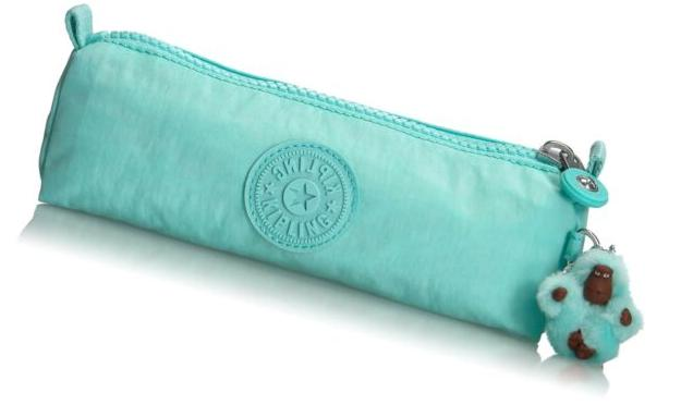 freedom pencil pen cosmetic case frosted teal