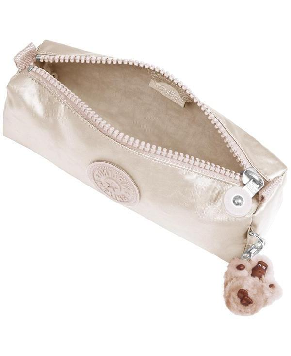 Kipling Freedom Cosmetic Sparkly Gold