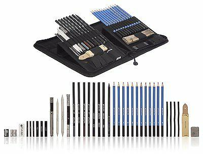 Castle Art Supplies Drawing Pencils and Set Kit,