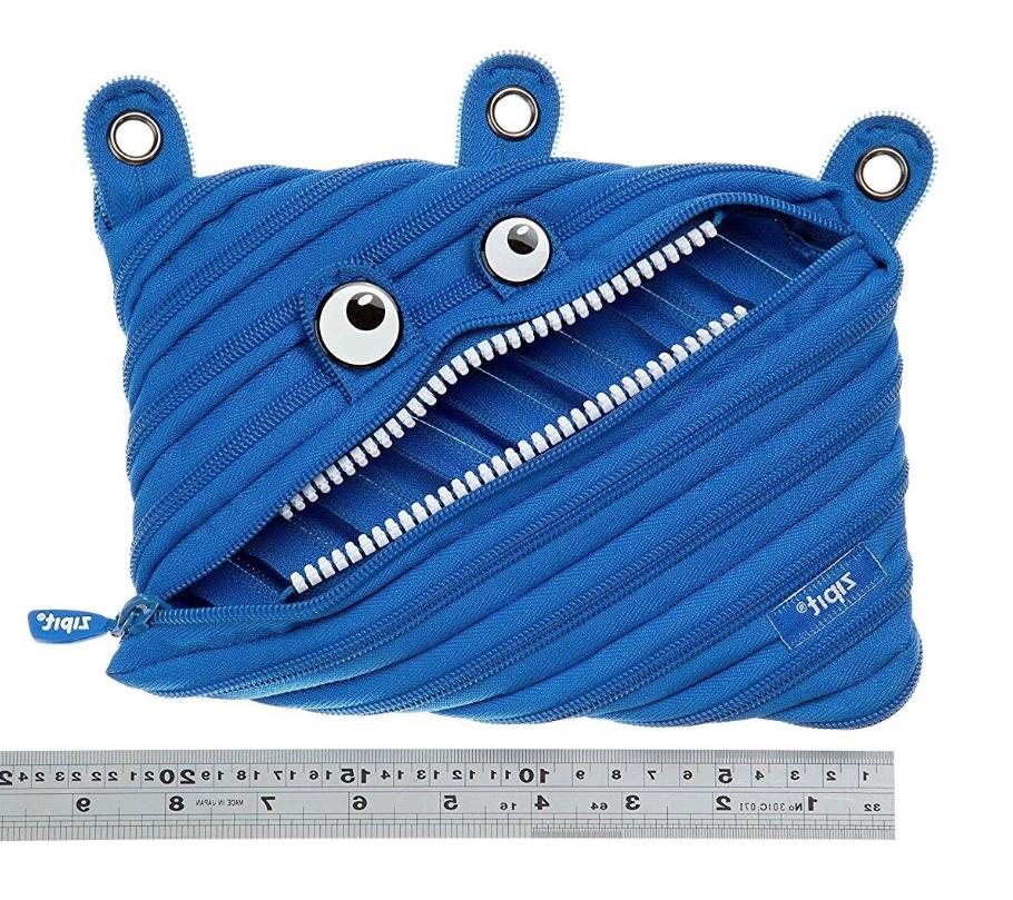 ZIPIT Pouch/Pencil in Blue NEW