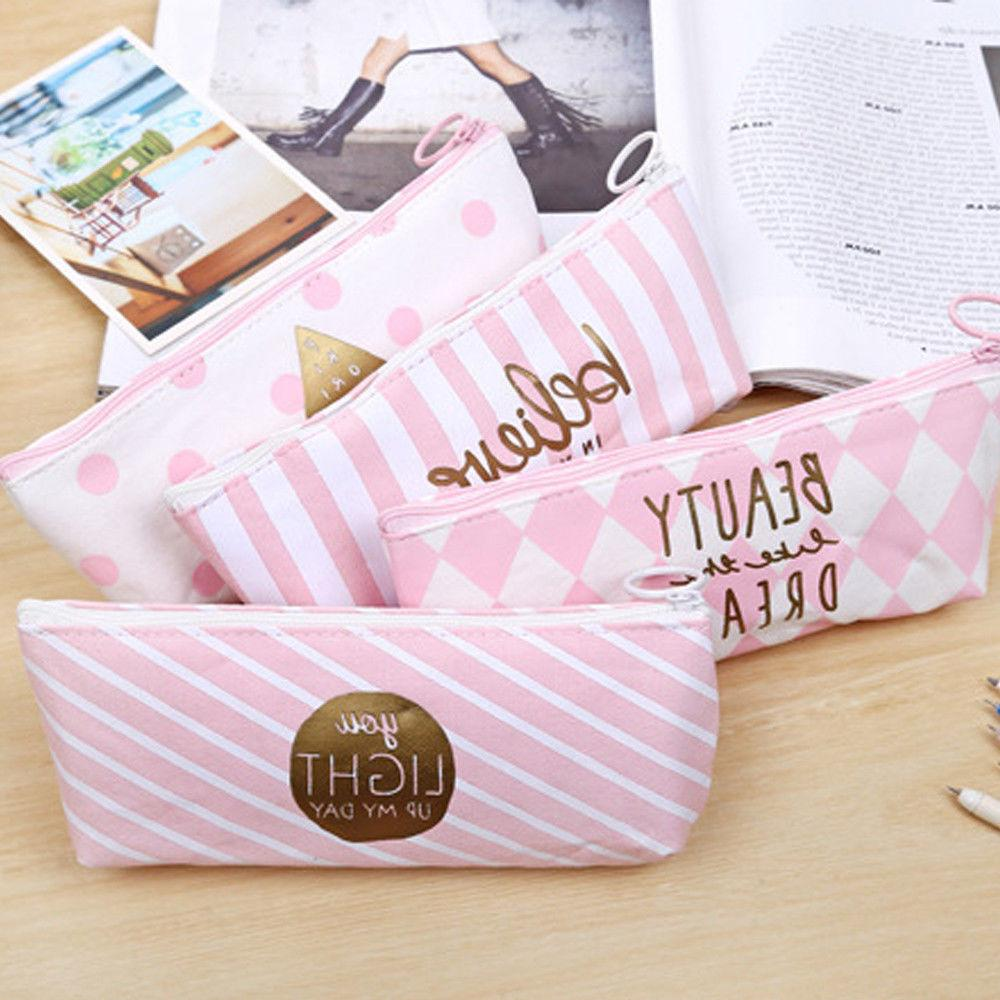 HOT US Case Holder Stationery Students Pouch