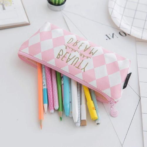 HOT US Case Makeup Holder Students Pouch