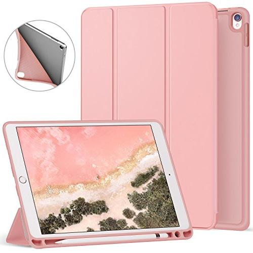 los angeles bef92 cb094 Ztotop iPad Pro 10.5 Case with Pencil Holder,