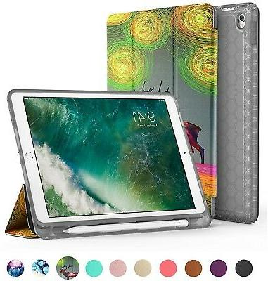 IPad Pro 10.5 Case With Pencil Holder, Swees Slim Full Body