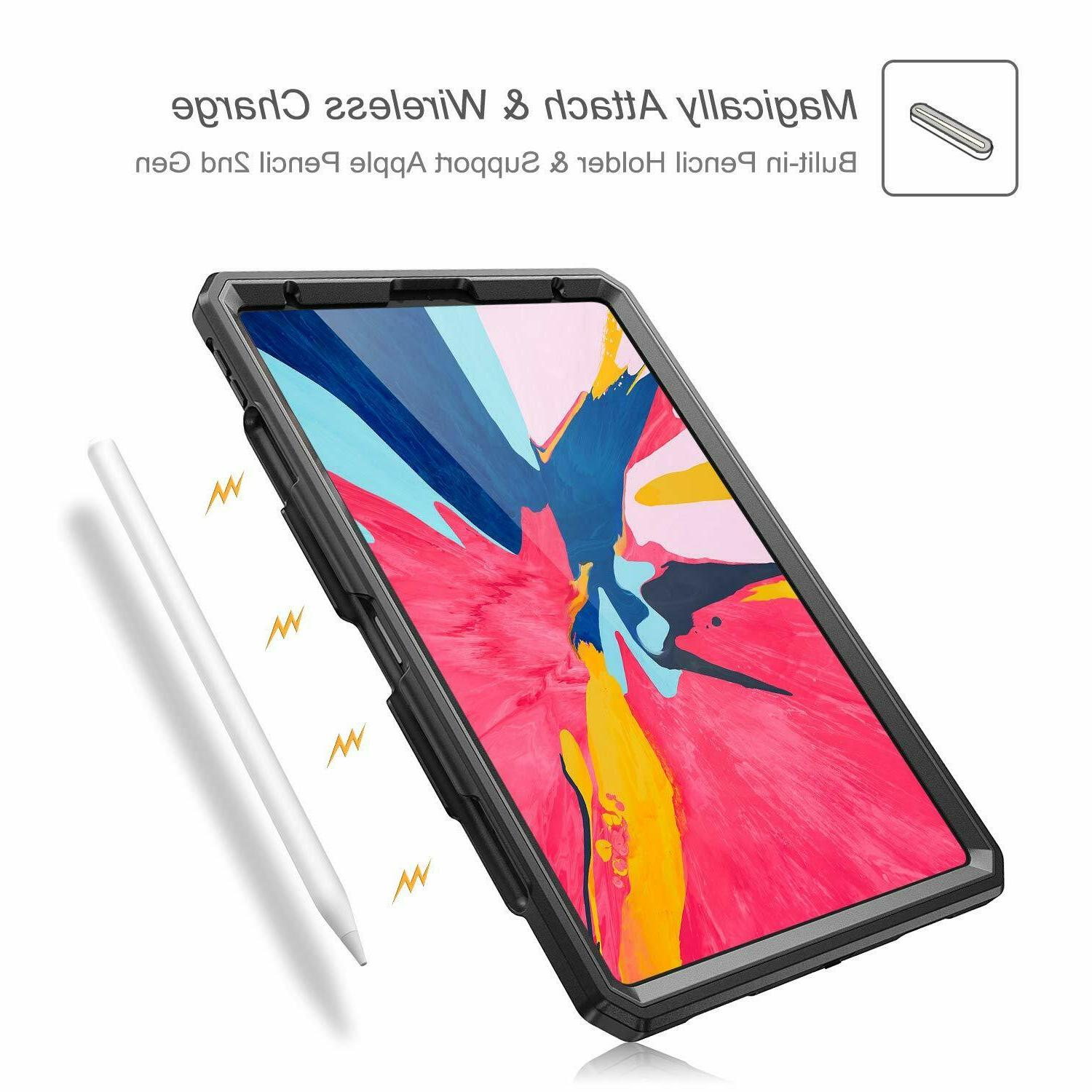 For iPad Pro inch Grip Stand Rugged Pencil Holder