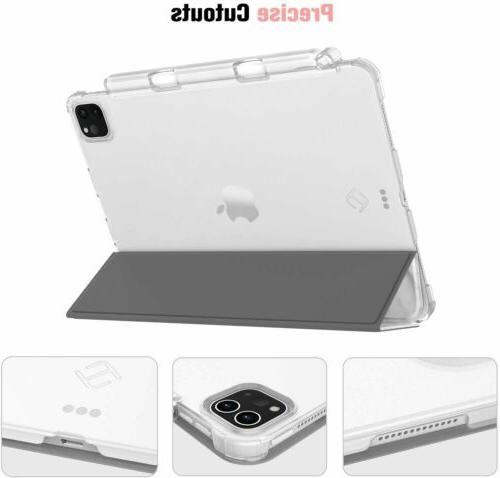 """For iPad 11"""" 2020 Frosted w Pencil Holder"""