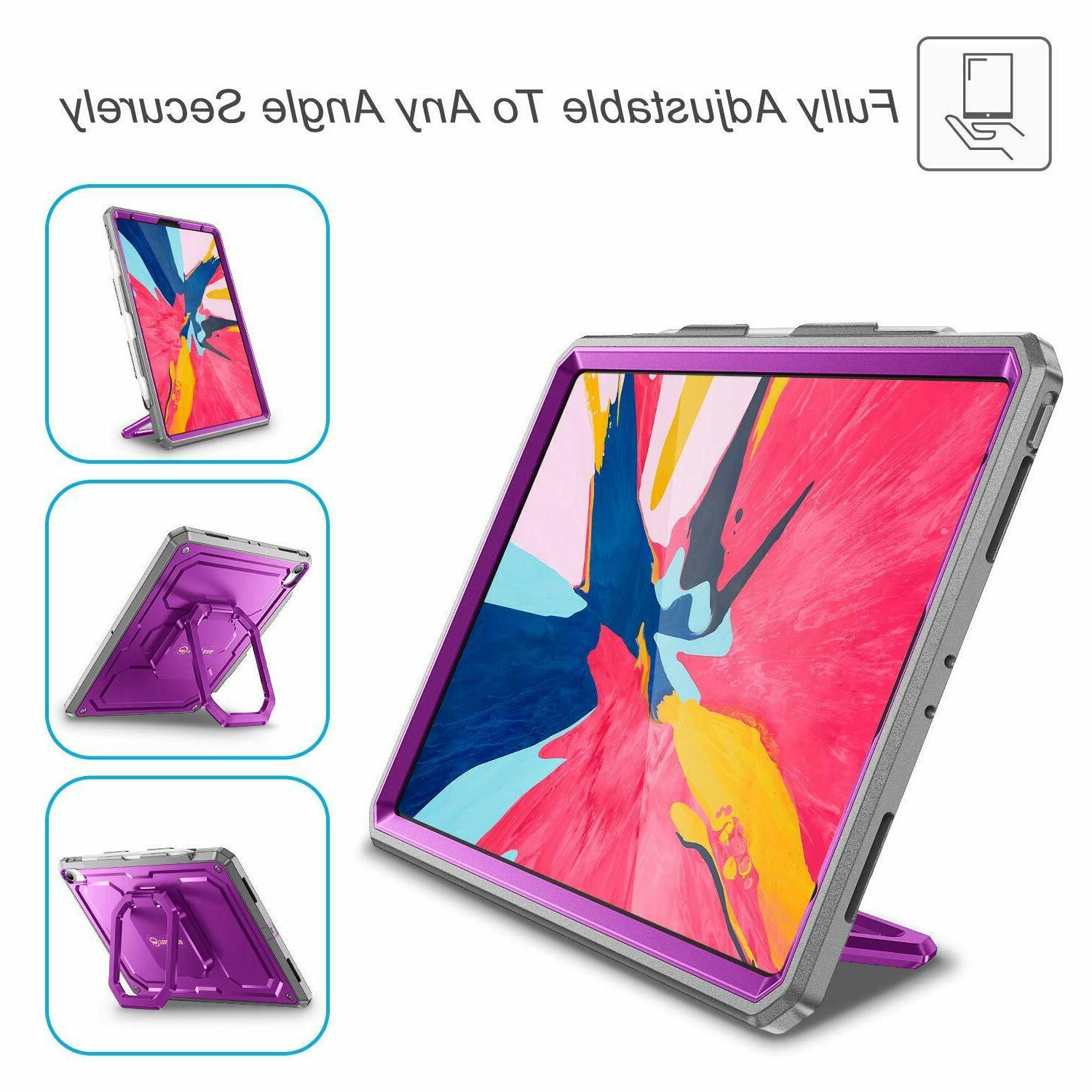 For Pro 11 inch 2018 Case Stand Cover Pencil Holder
