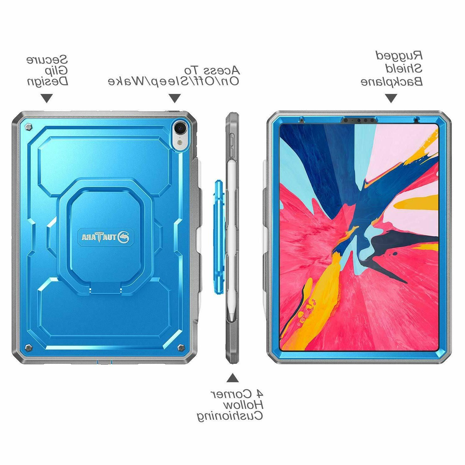 For iPad Pro inch 2018 Case Stand Shockproof Rugged Pencil