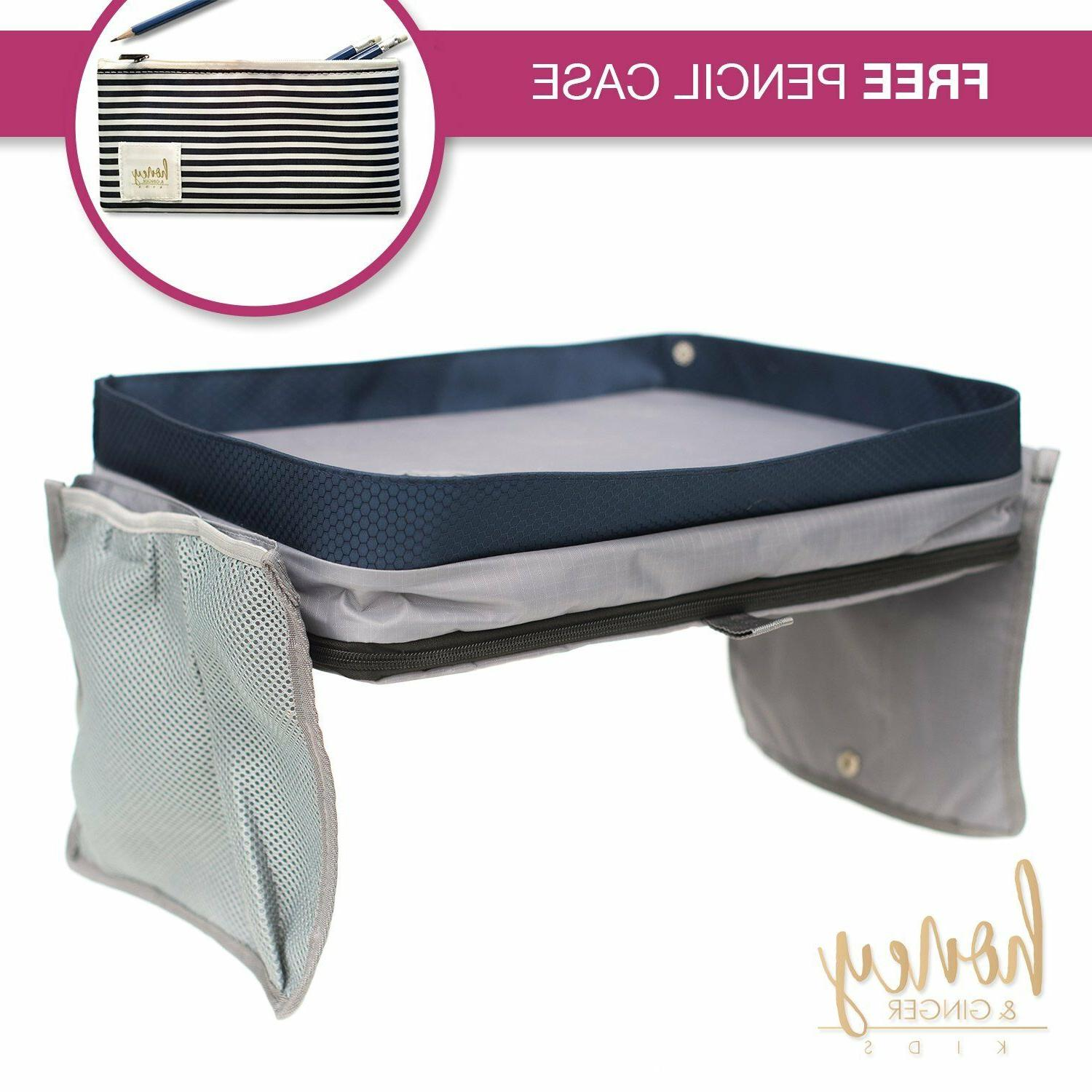 kids carseat travel lap tray with free
