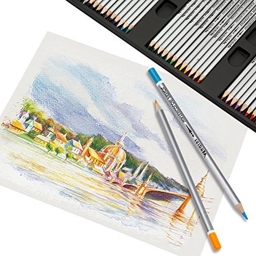 Madisi Art Kit 100 PCS - Pencils, 36 Supplies