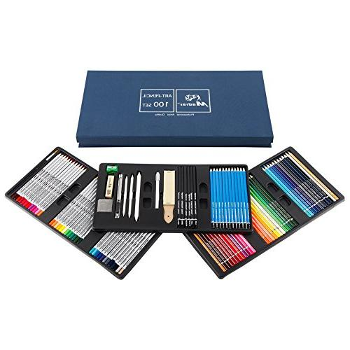 Madisi Art PCS Pencils, 36 Colored 28 Set Supplies